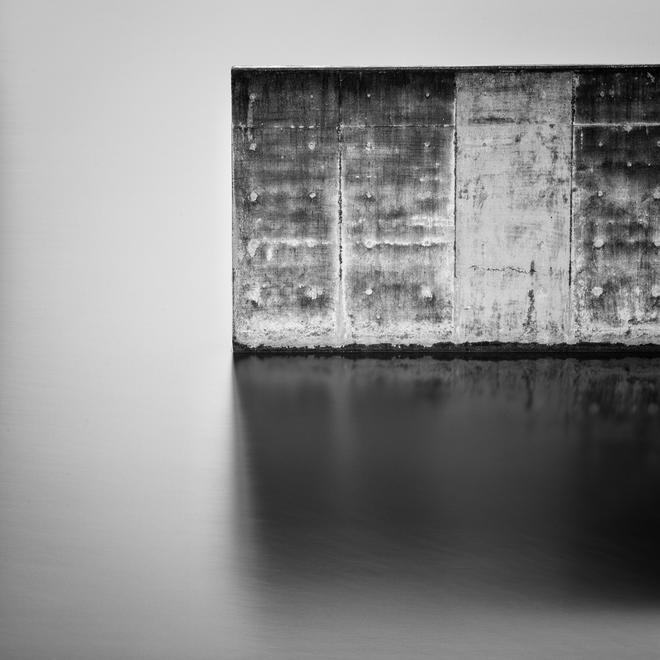 A little bit of concrete wall by Paul Mullins | Irish Times Amateur Photographer of the Year 2013 Bronze medal, Monochrome Category