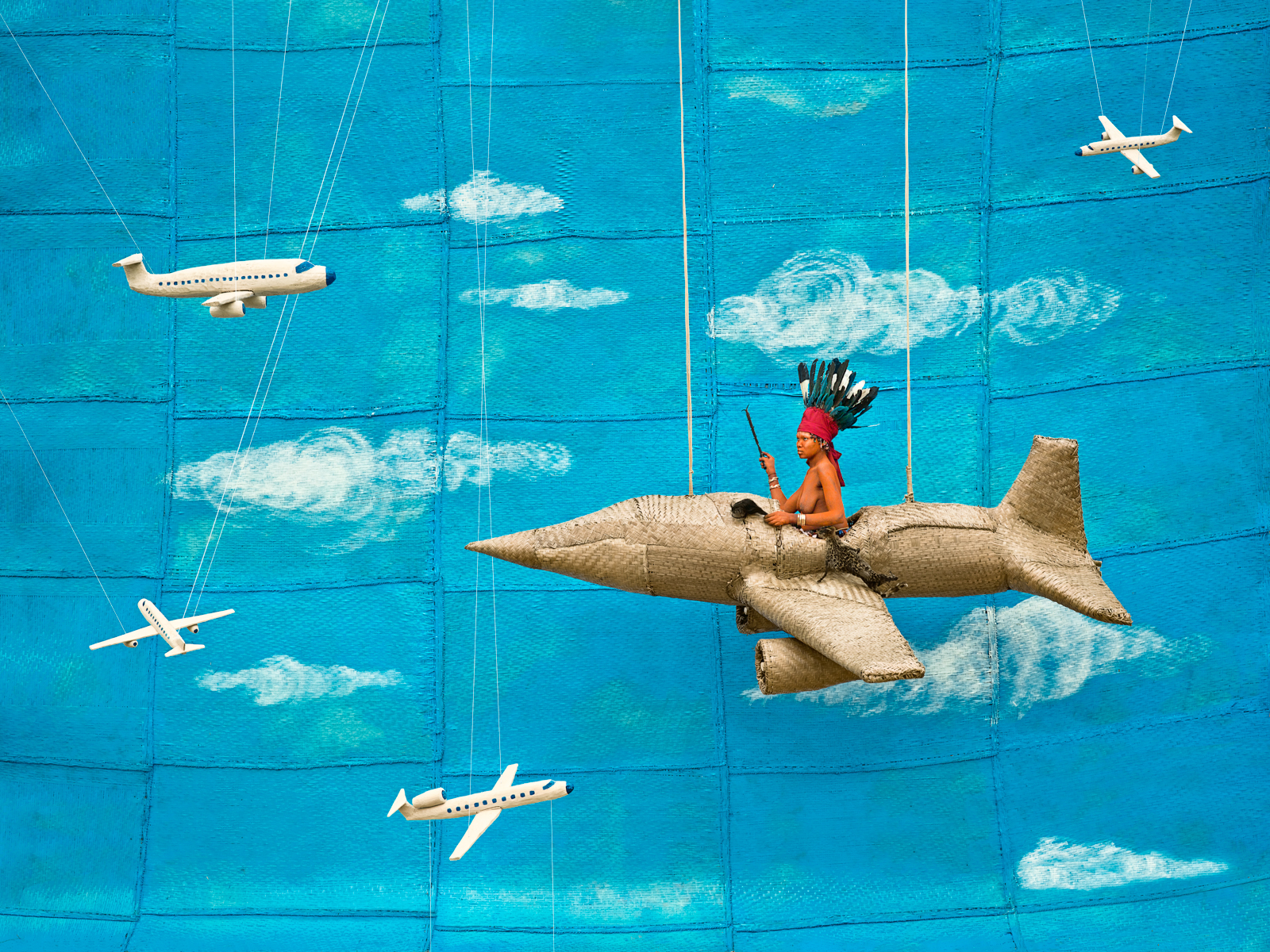 Walé Asongwaka Takes Off. From I am Walé Respect Me, 2013. By Patrick Willocq