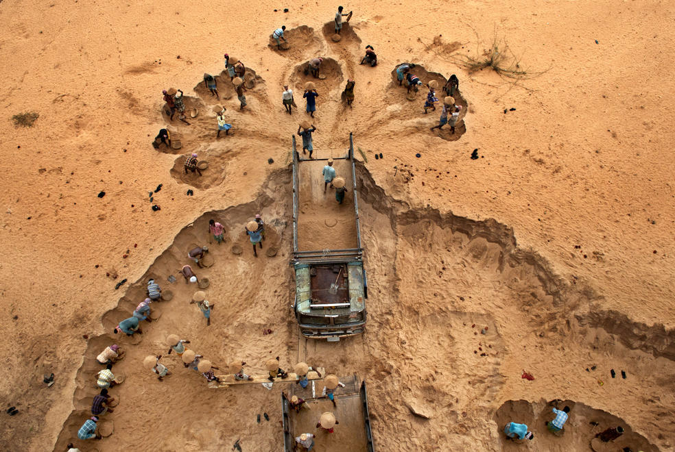 Sudipto Das, Illegal Sand Mining, Syngenta Photo Award
