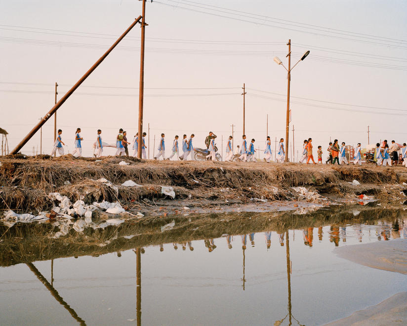 Pollution and pilgrims along the Ganges River