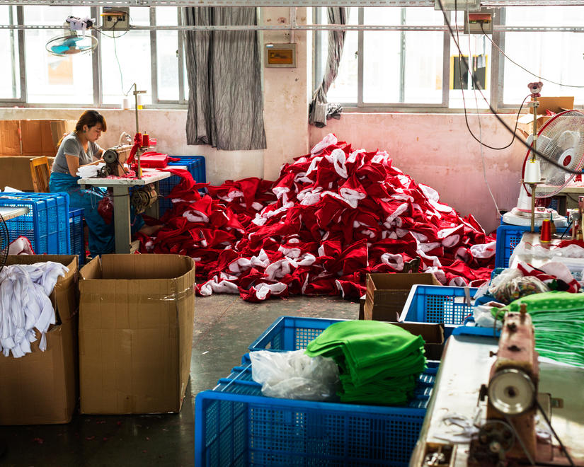 Toby Smith, Yiwu Christmas Factory, Syngenta Photo Award