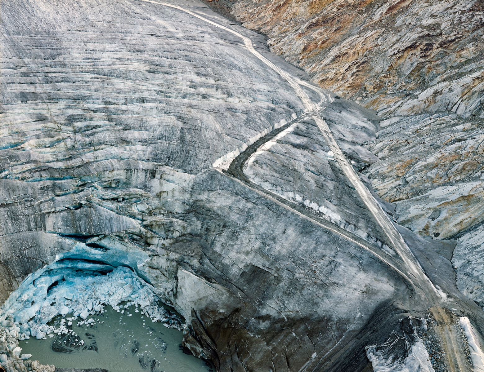 Olaf Unverzart, Trucktracks on a Glacier, Syngenta Photo Award